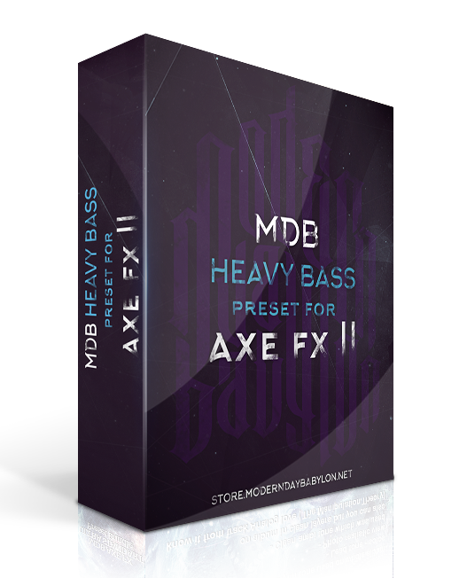 HEAVY BASS preset for AXE FX II